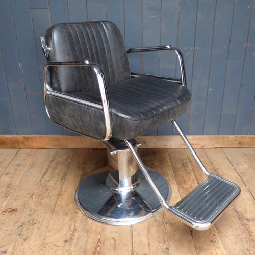 Brilliant Black Leather Belmont Barbers Chair Rwi3376 Home Gmtry Best Dining Table And Chair Ideas Images Gmtryco