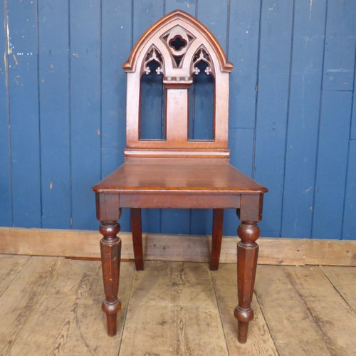 CARVED OAK CHAPEL CHAIR - TWO STYLES AVAILABLE RWI4534