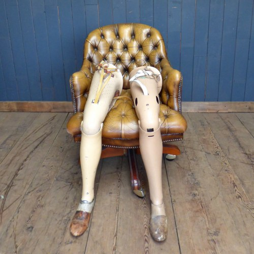 VINTAGE PROSTHETIC FALSE LEGS - TWO AVAILABLE
