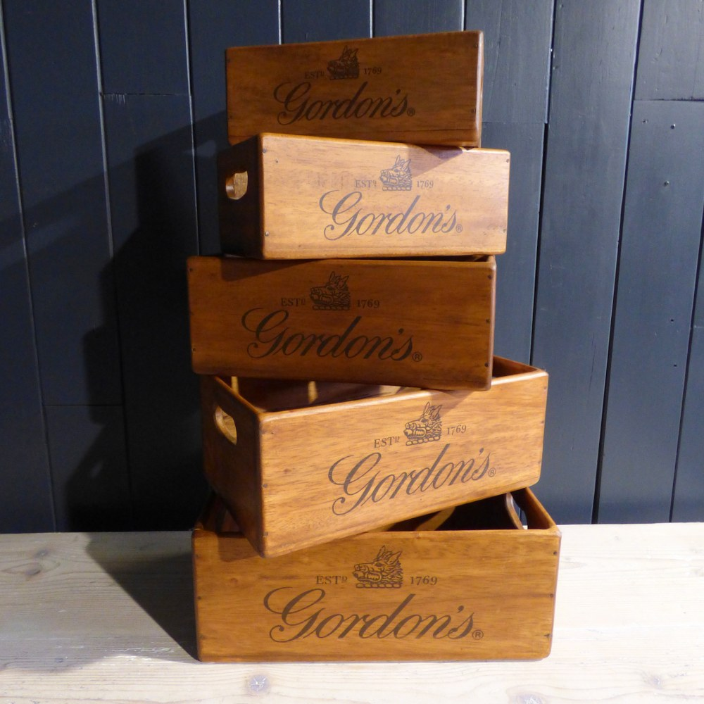 RUSTIC WOODEN STORAGE / GIFT BOXES RWI4894