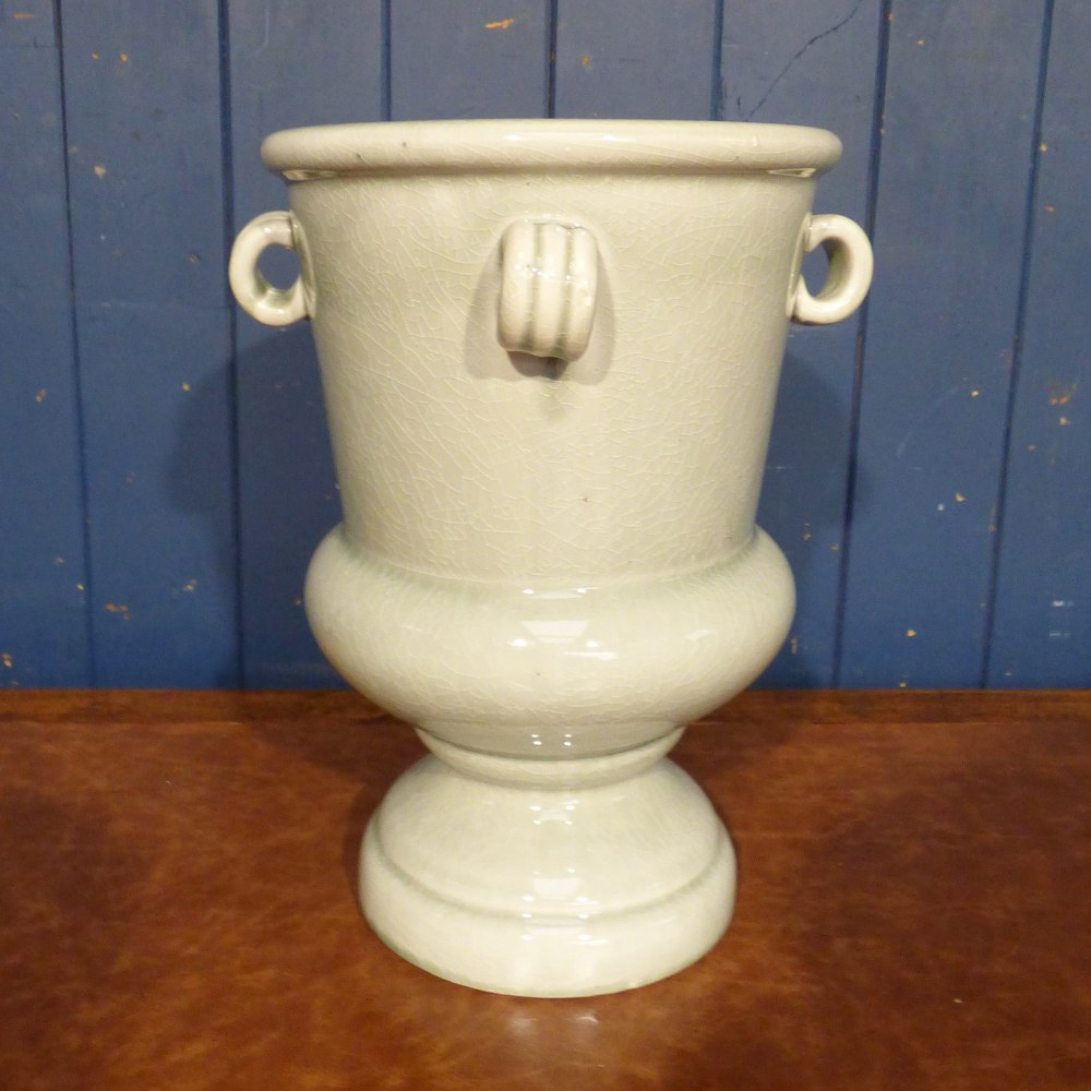 LARGE GREY CERAMIC URN CH