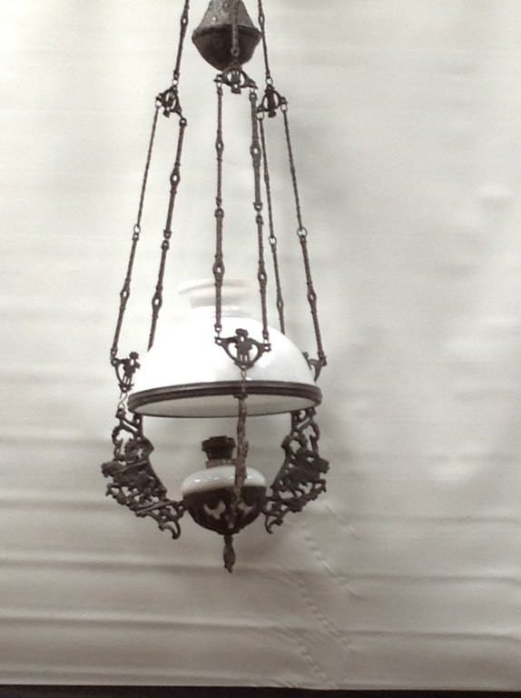 DUTCH PARAFFIN CELING LAMP (KNIGHT)