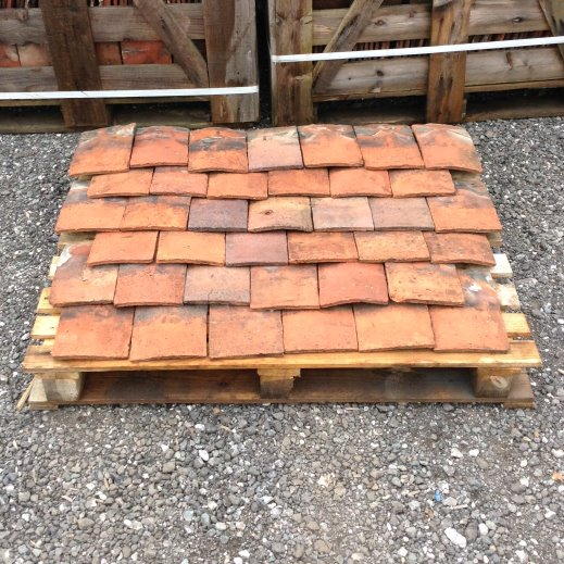 Reclaimed Handmade Terracotta Roof Tiles   Reclaimed Bricks