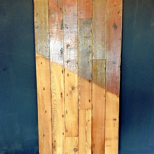 reclaimed pitch pine 3 flooring ebay. Black Bedroom Furniture Sets. Home Design Ideas